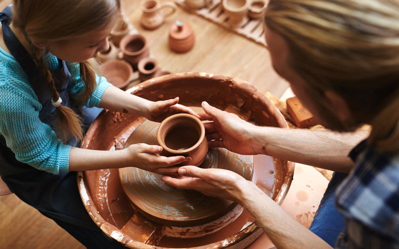 VINOVO – Laboratori di ceramica alla festa patronale