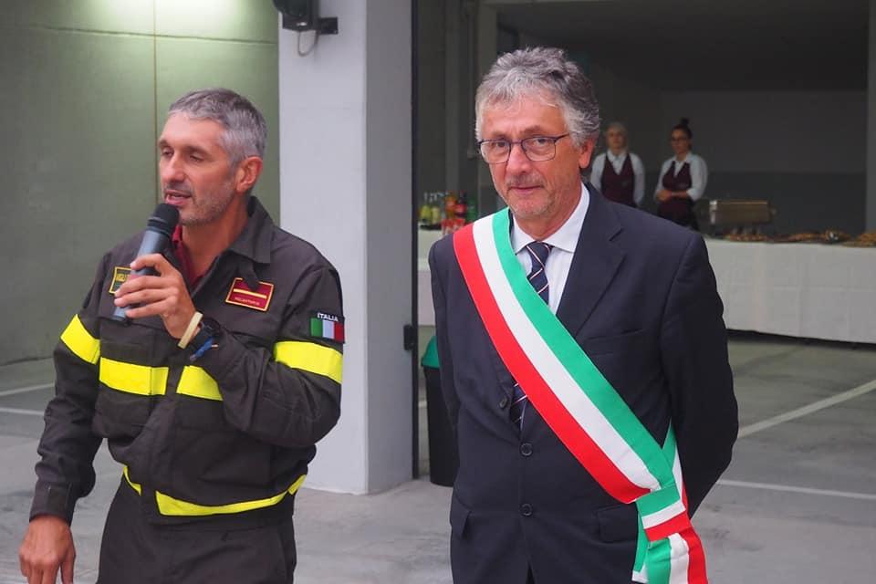 SANTENA – Torna operativo il distaccamento dei vigili del fuoco