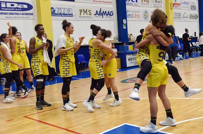 Basket A2 femminile – Illusione Crema, delirio Moncalieri nel big match d'esordio