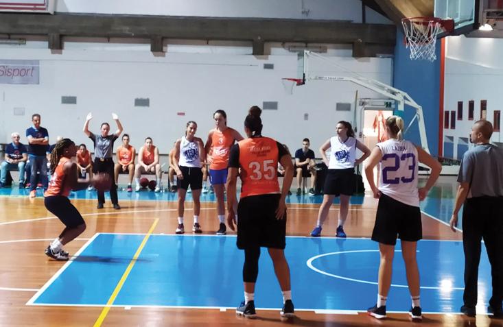 Iren Fixi Pall. Torino, buona la prima alla Sisport con il Basket Team Crema di A2