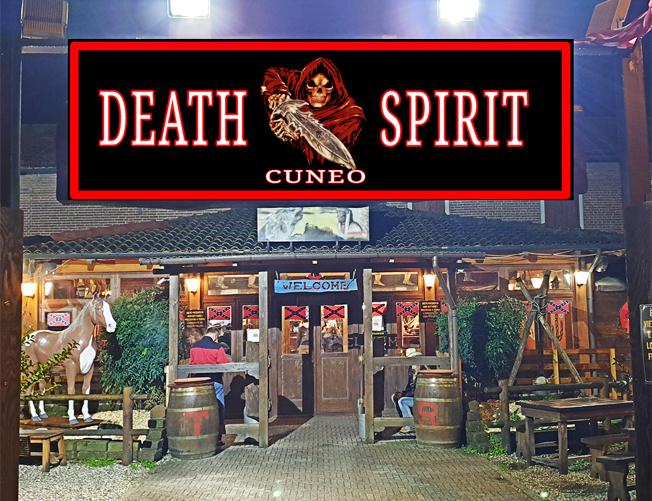Il Moto Club Death Spirit Cuneo stasera festeggia i primi tre anni al Renegade Saloon