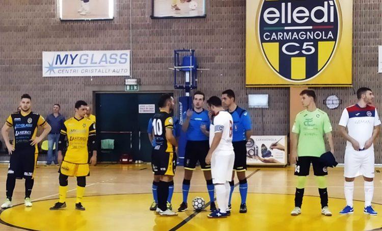 Calcio a 5 serie B/A, anche il Real Cornaredo corsaro sul campo dell'Elledì Carmagnola