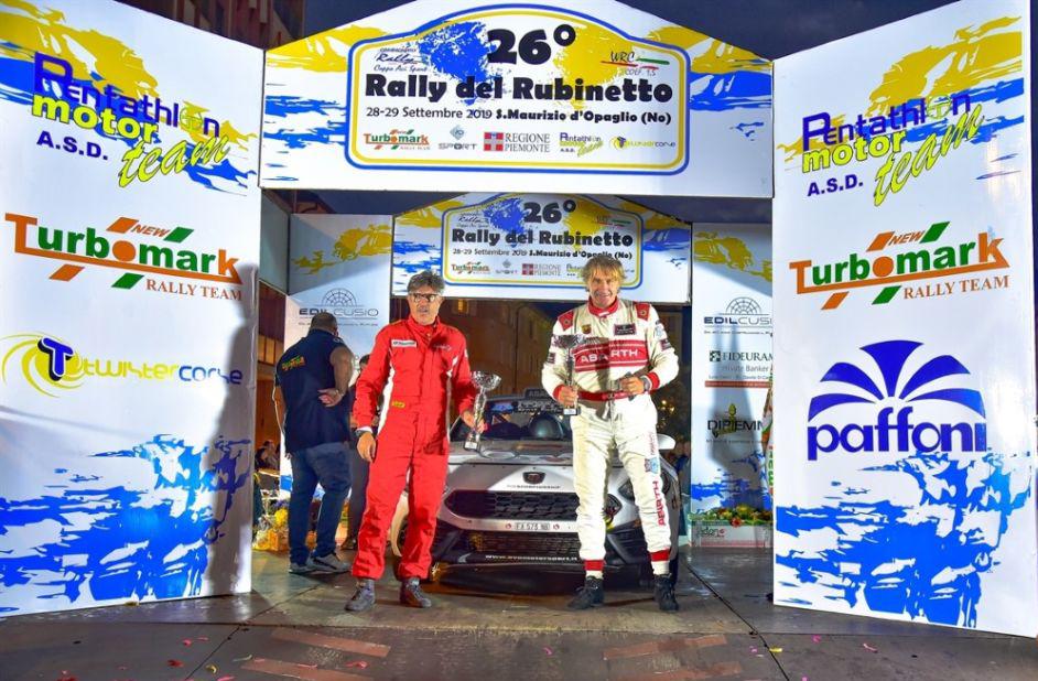 """RALLY – Roberto Gobbin apre il """"Rubinetto"""" con la 124 Abarth rally"""