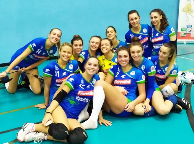 Volley Serie D femminile, ottimo esordio casalingo per l'Mtv Fiorentini nel girone A