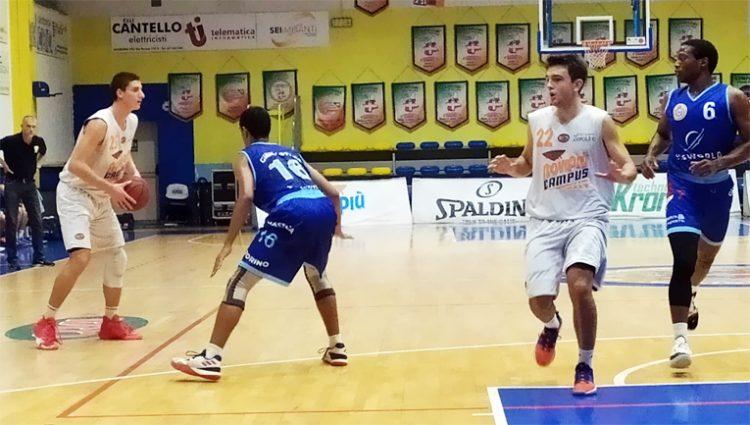 Basket serie C Gold – Eisworld Ginnastica vicina alla tripla cifra anche a Moncalieri