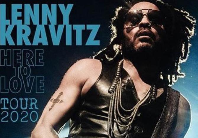 Lenny Kravitz a Stupinigi Sonic Park 2020