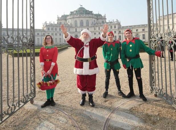 """NICHELINO – Conto alla rovescia per """"Natale è reale"""" a Stupinigi"""