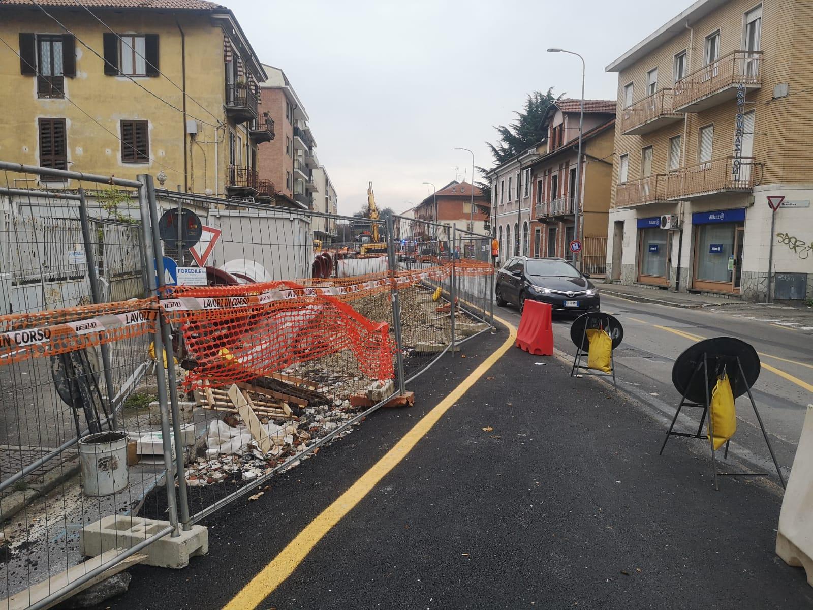 MONCALIERI – Ennesimo stop all'erogazione dell'acqua potabile in via Cavour