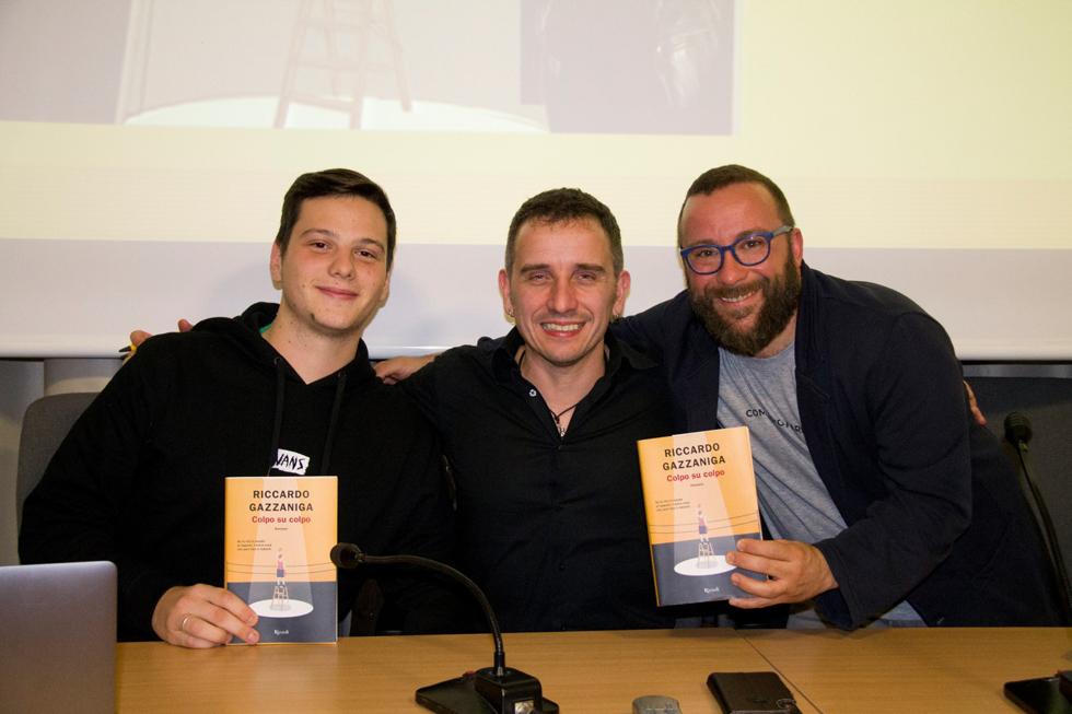 Riccardo Gazzaniga ha animato l'Aperilibro per ragazzi