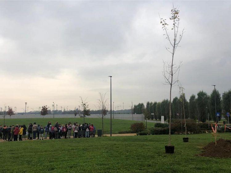 NICHELINO – Festa degli alberi con le scuole del territorio a Stupinigi