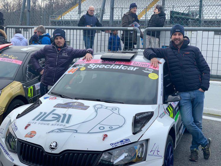 Due Gi Sport Moncalieri: Cristian Milano è ripartito con il Monza Rally Show
