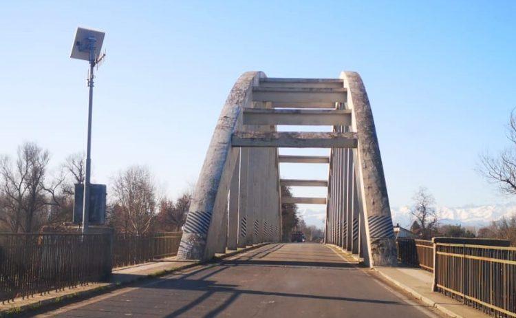 CARIGNANO – Manutenzione sul ponte del Po decisa da Città Metropolitana