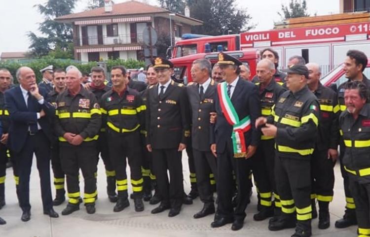 SANTENA – Il Comune firma la convenzione con i vigili del fuoco sulla sicurezza