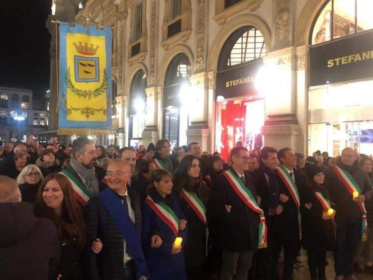 NICHELINO – Amministrazione comunale a Milano per la manifestazione pro Segre