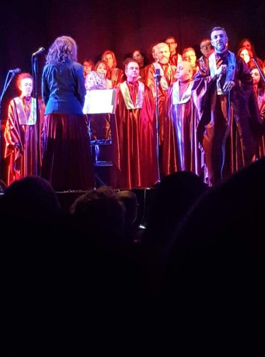 A Teatro con il Gruppo di Lettura Carmagnola – Castagnole Community Choir