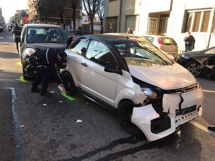 NICHELINO – Incidenti stradali: due feriti in due giorni