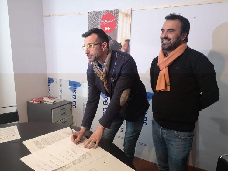MONCALIERI – Firmato l'accordo tra Montagna ed Europa Verde per le elezioni