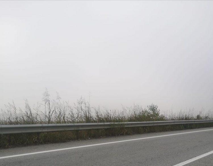 CINTURA SUD – Nebbia fitta in autostrada e provinciali: attenzione alla guida