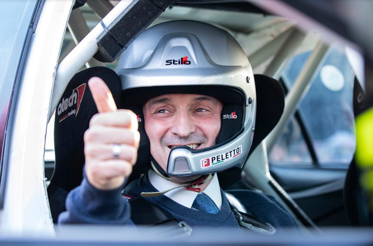 Anche il Presidente Cirio in pista per inaugurare l'edizione 2020 di Automotoretrò e Automotoracing
