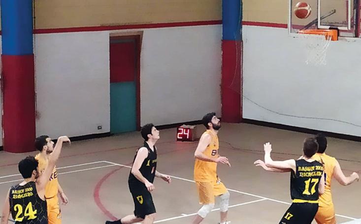 Serie D, alla Beinaschese i primi punti dell'anno sul Basket2000 Nichelino
