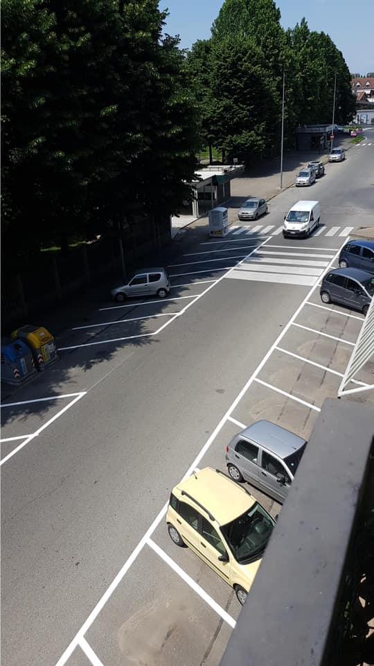 NICHELINO – Stop all'alta velocità in via Stupinigi: carreggiata ristretta