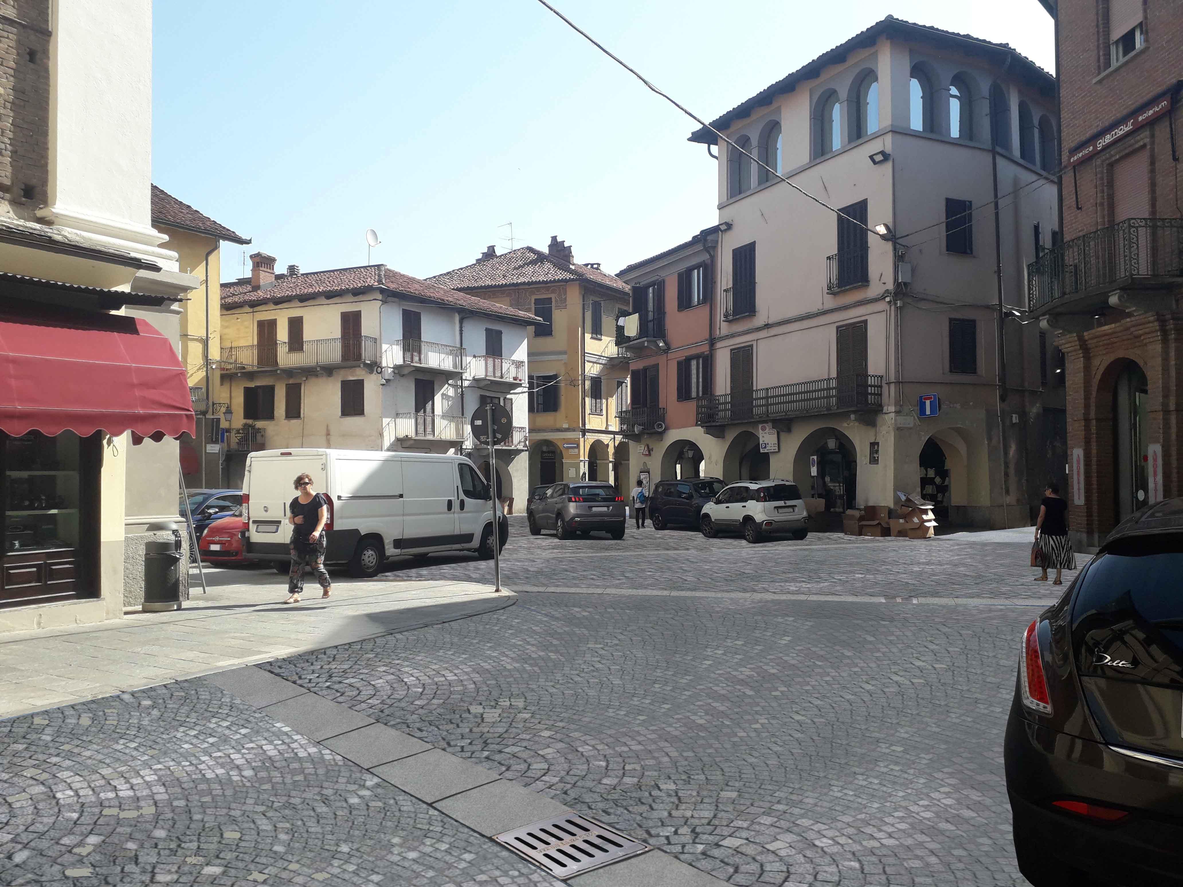 CARMAGNOLA – Pronto il nuovo progetto del mercato in piazza Garavella